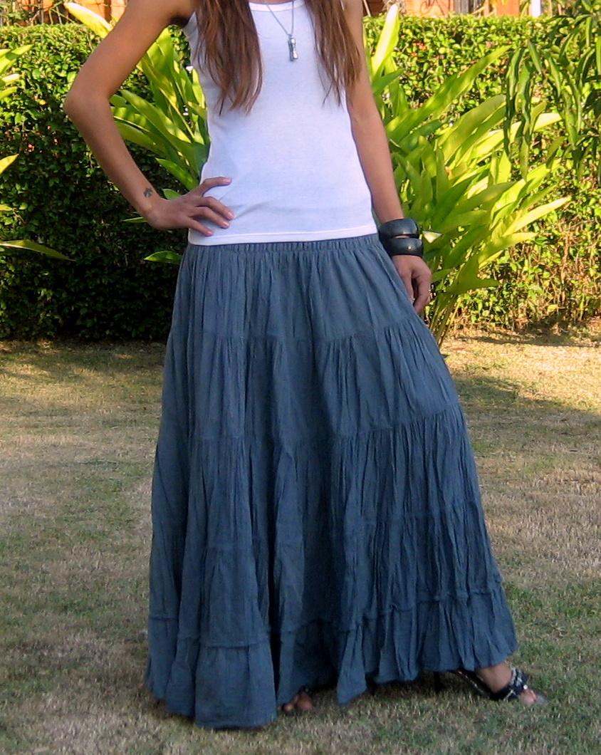 363596e2e4a3 Women Skirts Maxi - Billys Thai Shop - Handmade Skirts for Women