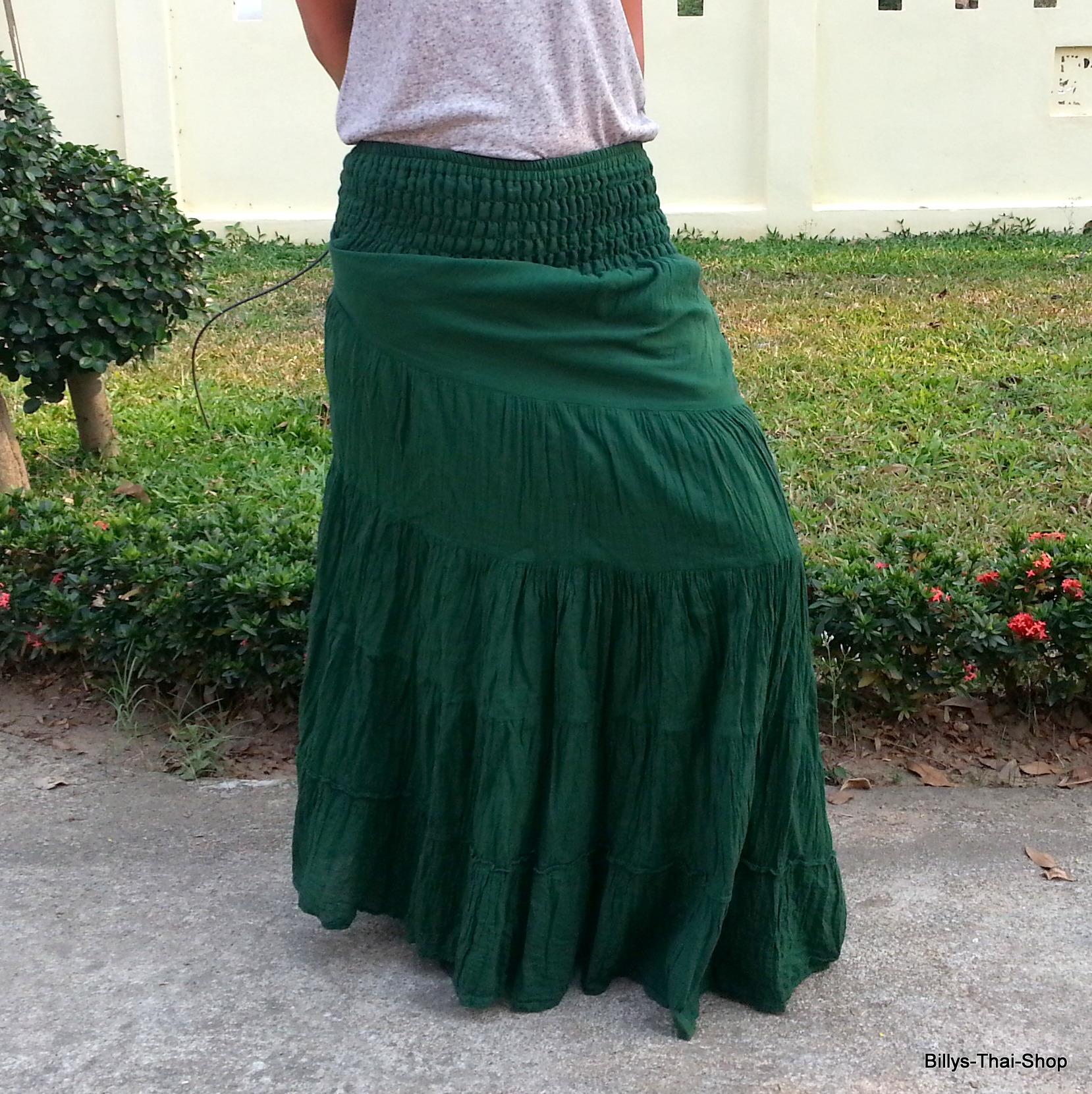ae0b44bd2c Bohemian Skirt - Billys Thai Shop - Handmade Maxi Skirt