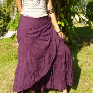 long flamenco skirt
