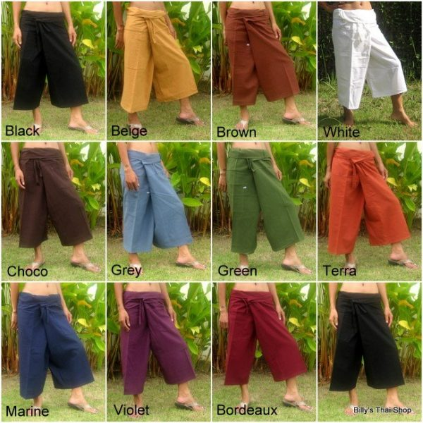 capri fisherman pants