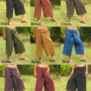 capri wrap pants