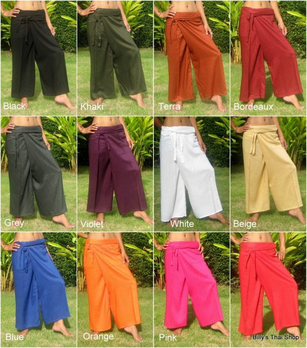 long fisherman pants